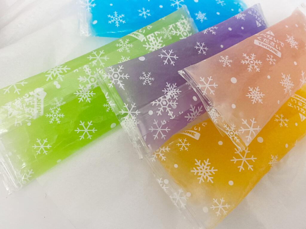 長方形の保冷剤